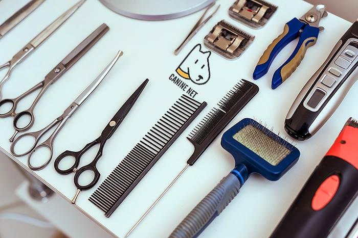 Types Of Dog Grooming Scissors